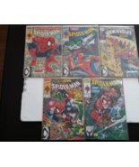 Marvel Comics - Spider-Man - Torment 5 part series 1-5 - 1990 - $65.00