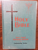 St Joseph Textbook Edition Holy Bible Confraternity Edition HC Catholic ... - $17.64