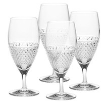 Mikasa Dimond Sky Crystal Iced Beverage Glasses... - $79.19