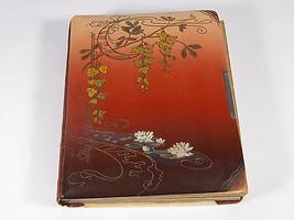 Vintage Antique Celluloid Art Nouveau Photo Album  - Free Shipping - $58.44