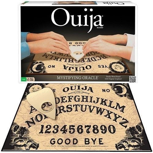 NEW Classic Ouija Board Game Oracle Original Graphics Fortune Telling Solid Wood