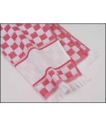 CLEARANCE Red Verona Kitchen Towel 16x24 14ct c... - $5.50