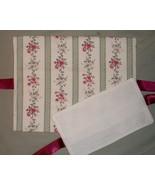 CLEARANCE Floral Love pillow sham cross stitch ... - $15.00