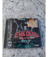 Ash is back!  Evil Dead: Hail to the King (Sony PlayStation 1, 2000) - $15.99