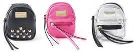 JUICY COUTURE Limited edition faux leather blac... - $33.99