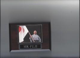 MR FUJI PLAQUE WRESTLING WWF JAPAN - $2.56