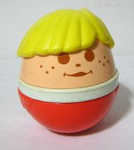"LITTLE TIKES BOY WEEBLE WOBBLE CHIME 5"" Vintage - $25.00"