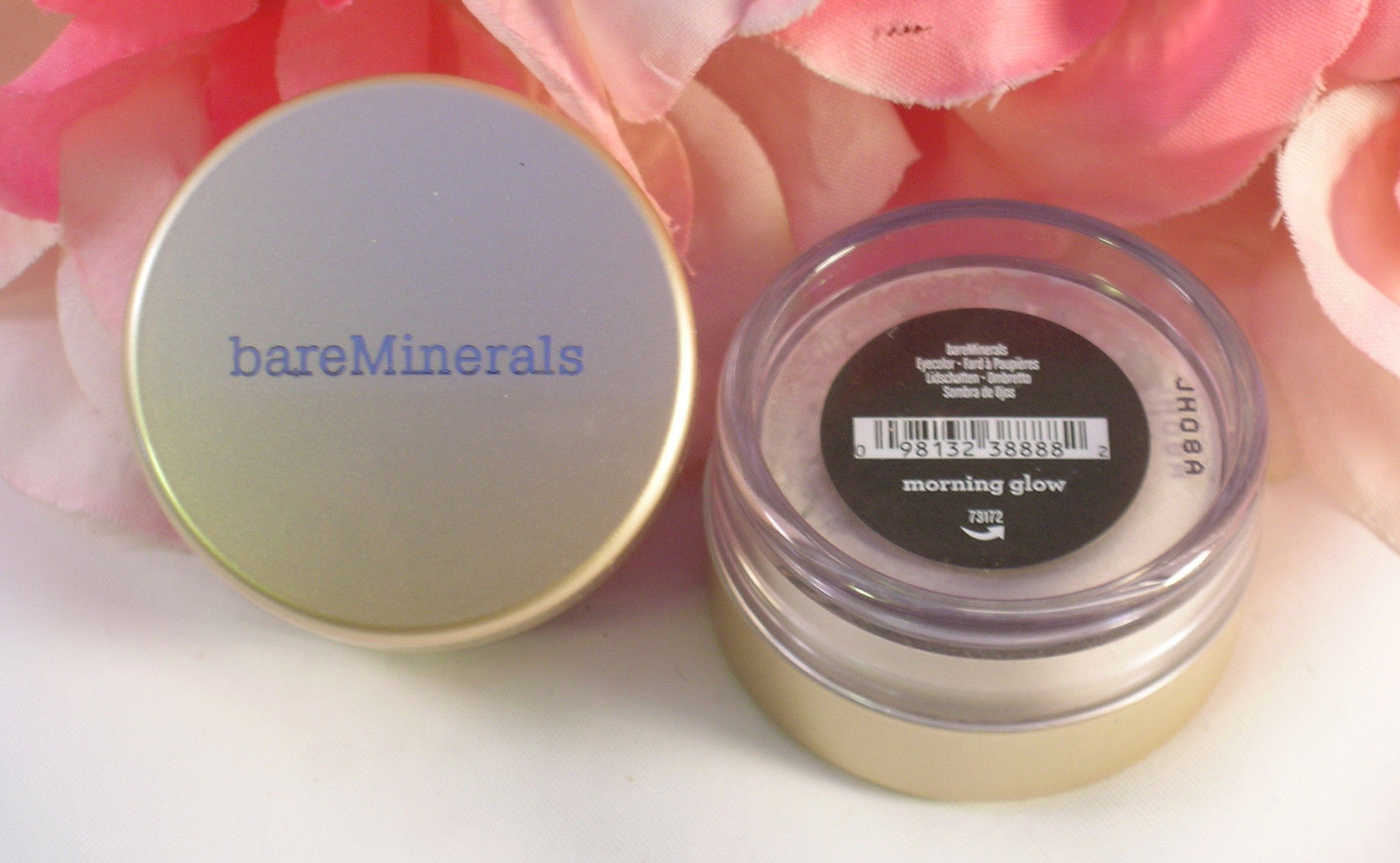 Primary image for New Bare Minerals Eye Color Morning Glow  Loose Powder .02 oz / .57g Escentuals