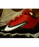 NIKE alpha shark red black white 11C toddler shoes - $17.10