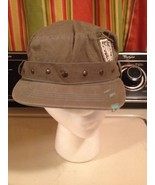 Girls Distressed Cadet Hat Cap Grey  Stretch Fit - $9.49