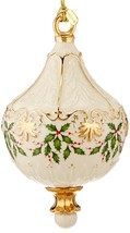Lenox Christmas 2016 Annual Holiday Ornament Holly Berry Motif NEW IN BOX - $42.50