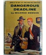 RARE Dangerous Deadline by Mildred Benson Nancy... - $300.00
