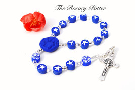 Queen of Peace Rosary, Confirmation gift, First... - $49.00
