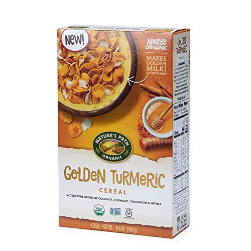 Nature's Path Golden Turmeric Cereal, Healthy, Organic, Gluten-Free, 10.6 Ounce