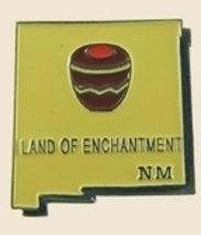 12 Pins - NEW MEXICO , state hat tac lapel pin sp355 - $12.00