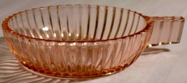 """Pink Depression Glass """"Queen Mary"""" Bowl with Si... - $15.00"""