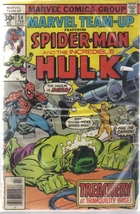 Marvel Team-Up #54 Spider-Man and the Incredible Hulk [Unknown Binding] - $6.99