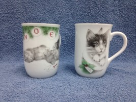 OTAGIRI XMAS Kittens Coffee Cups/Mugs Jonah's W... - $13.09