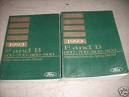 1993 Ford F&B 700 800 900 Truck Service Shop Repair Manual Set 2 VOL SET HUGE - $69.25