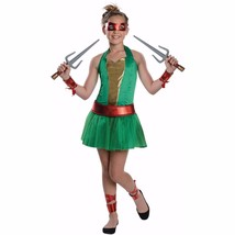 TMNT Teenage Mutant Ninja Turtles Halloween Fancy Dress Tutu Costume Rap... - $34.99