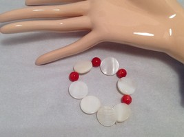 NEW Handmade Red Beaded Bracelet   image 3