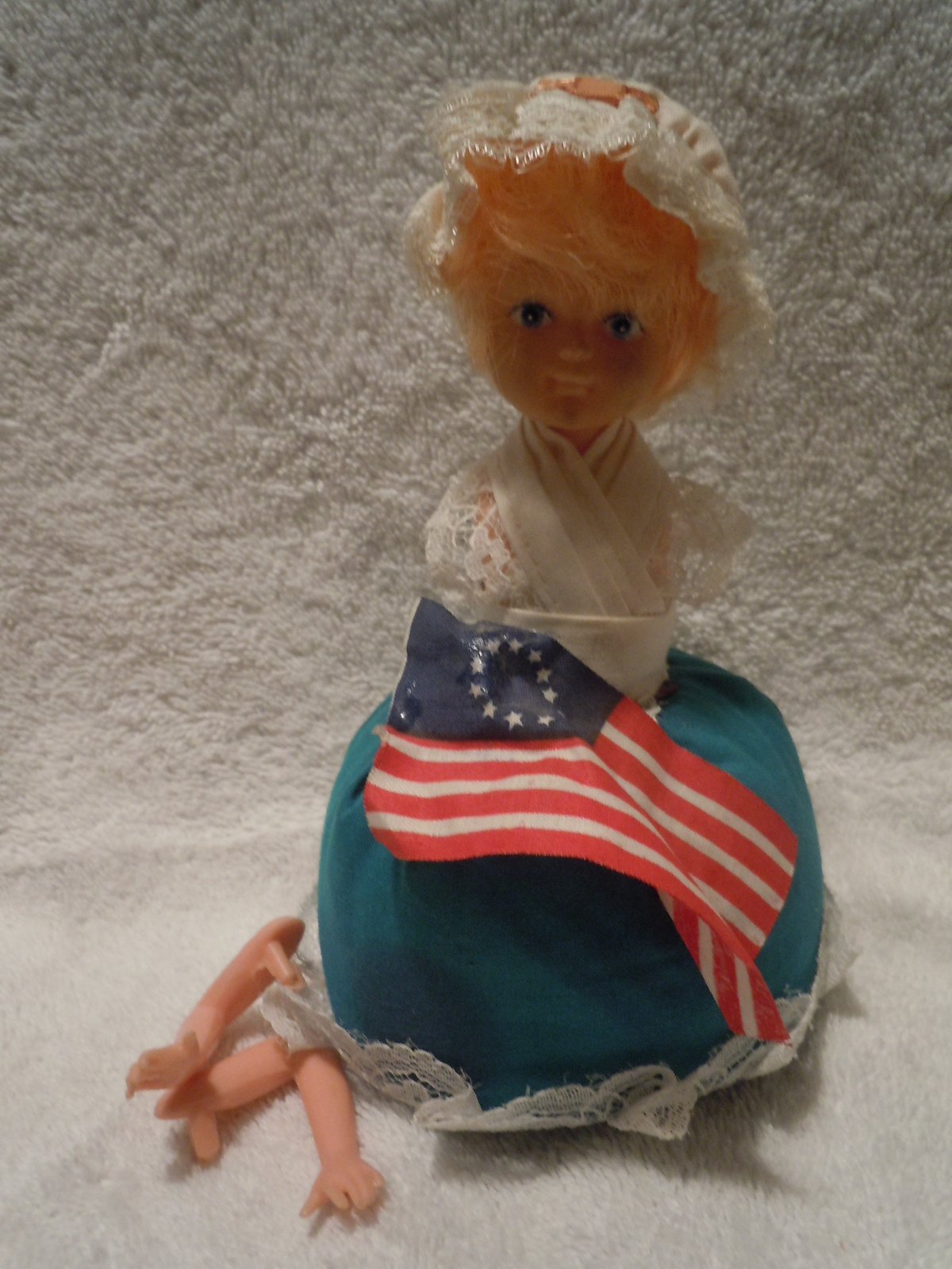 Primary image for Vintage Betsy Ross Pin Cushion Doll 1976