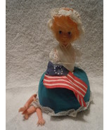 Vintage Betsy Ross Pin Cushion Doll 1976 - $4.99