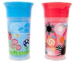 Sassy Insulated Grow Up Cup, Pink/Blue, 9 Ounce - $19.24