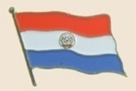 12 Pins - PARAGUAY , flag hat lapel badge pin sp247 - $12.00