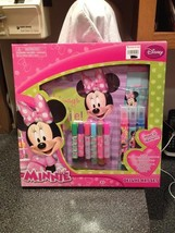 Disney Minnie Mouse Deluxe Art Set Craft Creativity Activity Kit Brand New - $15.99