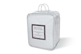 Quilted Diamond Jacquard Cotton Mattress Pad - Queen - $49.45