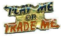 12 Pins - PLAY ME OR TRADE ME , sports lapel pin #4536