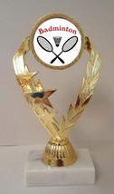 """Badminton Trophy 7-1/4"""" Tall As Low As $3.99 Each Free Shipping T02N6 - $7.99+"""