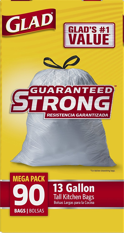 glad tall kitchen drawstring trash bags 13 and 50 similar items rh bonanza com