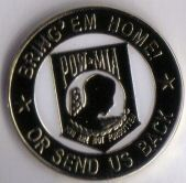 12 Pins POW MIA BRING EM HOME OR SEND US BACK pin 4968