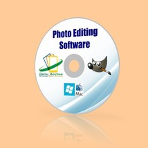 2016 Professional Photo Editing Software Digital Image jpeg png RAW PC &... - $11.75