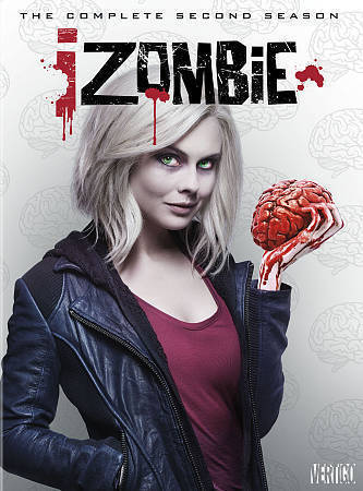 iZombie: The Complete Second Season 2 (DVD Set) Zombie TV Series New