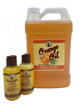 Howard Orange Oil Gallon Plus 2 Free 4.7 Ounce Feed N Wax, Beeswax Wood ... - $74.02