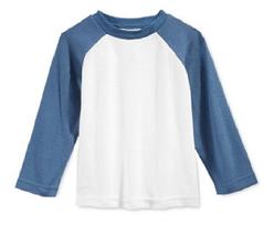First Impressions Baby Boys' Long-Sleeve Raglan T-Shirt,Angel White, Size 3-6 M - $8.90