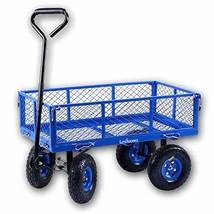 Landworks 2103Q044A Heavy Duty Lawn/Garden Utility Cart/Wagon With Remov... - $1.968,80 MXN