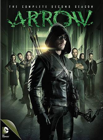 Arrow: The Complete Second Season 2 (DVD Set New) TV Series