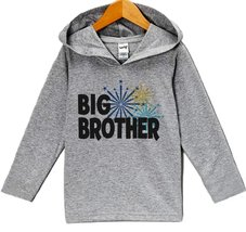 Custom Party Shop Baby Boy's Big Brother New Years Eve Hoodie Pullover 12 Mon... - $22.05