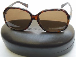 NEW Michael Kors M2743S Palo Alto Studded Sunglasses Dark Tortoise  W/Case - $72.50