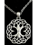 CELTIC TREE OF LIFE NECKLACE  22-Inch Adj. Chain - $22.99