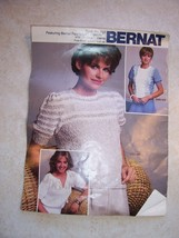 Vintage Bernat Kniting Instructions Book No. 503   Dated copyright 1982 - $7.79
