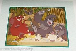 Disney Store Tarzan Lithograph Gold Seal 2000 Picture Photo Vintage - $44.95