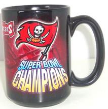 Tampa Bay Buccaneers Coffee Mug Super Bowl XXXVII 37 Black Cup Football ... - $34.95