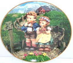 Hummel Collector Plate Country Crossroads Little Companions M I Danbury ... - $59.95