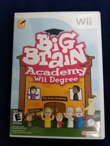 Big Brain Academy: Wii Degree (Nintendo Wii, 2007) - $14.85