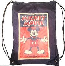Disney Mickey Mouse Fleece Throw Blanket and Cinch Sack Backpack Theme P... - $59.95